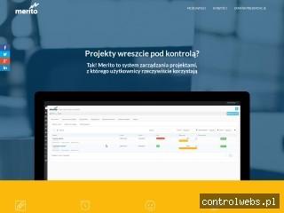 Program do zarządzania projektami - meritoapp.pl