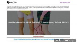 Akcesoria sypialniane - sweetsleep.pl