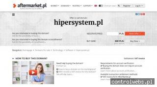 Hipersystem - Systemy Alarmowe i Instalacje Elektryczne
