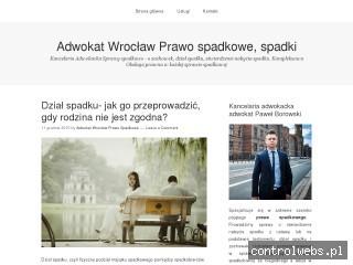 Adwokat dział spadku Wrocław