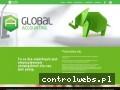 Screenshot strony www.global-accounting.pl