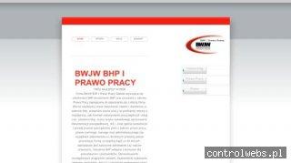 Firma BWJW BHP i Prawo Pracy