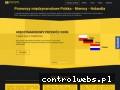 Screenshot strony magnusoncars.pl
