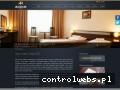 Screenshot strony www.amber-hotel.pl