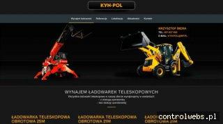 Kyn-Pol - wynajem ładowarek teleskopowych Manitou