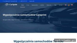 Wypożyczalnia samochodów dostawczych Rzeszów - carsprint.pl