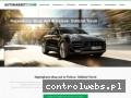 Screenshot strony www.automarket-torun.pl