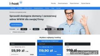 I-host.pl - elastyczny i skalowany hosting