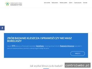 Badanie kleszcza - zbadajkleszcza.pl