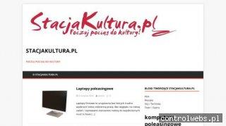 StacjaKultura.pl - Poczuj pociąg do kultury