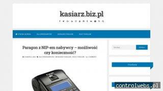 Wpisy o kasach i drukarkach fiskalnych - Kasiarz.biz.pl