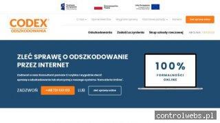 Zadośćuczynienie z CODEX Warszawa
