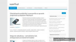 Kasy i drukarki fiskalne na blogu - Superfis.pl