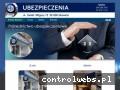Screenshot strony pzuubezpieczeniaskawina.pl