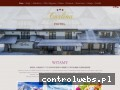 Screenshot strony www.carlina.pl