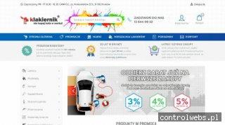 Sklep Internetowy Lakiery Samochodowe STANDOX, DUPONT, NOVOL