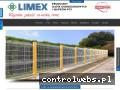 Screenshot strony www.limex.gdansk.pl