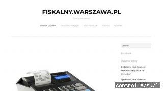Artykuły dotyczące kas fiskalnych - Fiskalny.warszawa.pl