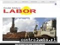 Screenshot strony www.labor-krakow.pl