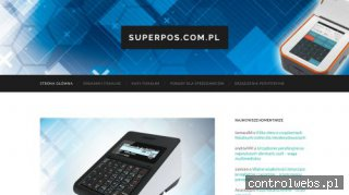 System sprzedaży z kasą fiskalną - Superpos.com.pl
