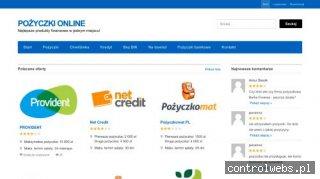 PożyczkiOnline Najlepsze produkty finansowe w jednym miejscu