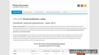 Chwilówki - pozyczkometr.pl