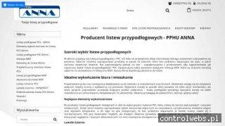 Listwy przypodłogowe pcv - sklep.firma-anna.pl
