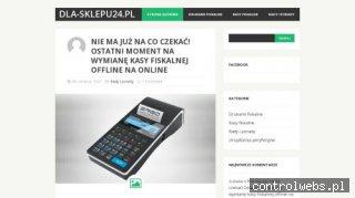 Kasy fiskalne, porady dla podatników - Dla-sklepu.24.pl