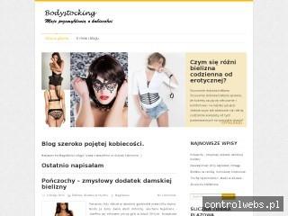 Biustonosz koronkowy - bodystocking.waw.pl