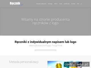 ręczniki z logo - recznikzlogo.pl