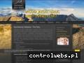 Screenshot strony www.e-apartamentyzakopane.pl