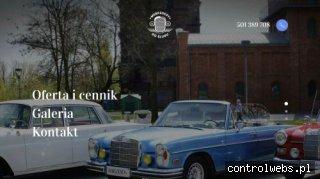Wynajem samochodów do ślubu Katowice