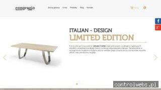 CONGRAZIO włoskie meble drewniane