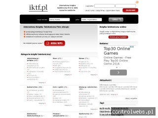 Książka telefoniczna online - iktf.pl