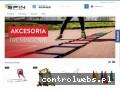 Screenshot strony spin-sport.pl