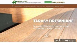 Tarasy drewniane - Katowice, Kraków, Bielsko Biała