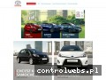 Screenshot strony uzywanetoyoty.pl