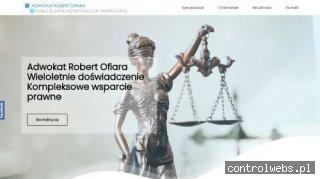 Adwokat Robert Ofiara