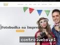 Screenshot strony www.imprezowyraj.pl