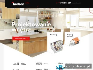HADSON wizualizacje mieszkań Kraków