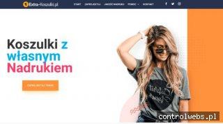 Nadruki na koszulkach- Extra-Koszulki.pl