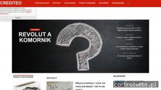 Crediteo.pl - szybkie pożyczki w internecie