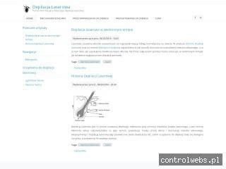 Depilacjalaserowa.org - portal informacyjny