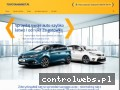 Screenshot strony www.toyotamarket.pl