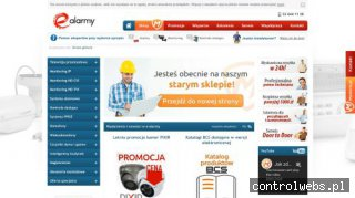 E-alarmy.pl - systemy alarmowe