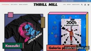 Thrill Mill - geek sklep, gadżety filmowe i komiksowe