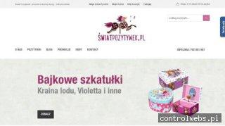 Szkatułka na biżuterię - swiatpozytywek.pl
