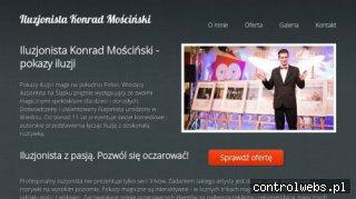 Iluzjonista Konrad Mościński - pokazy iluzji