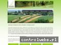 Screenshot strony www.monitoring-przyrodniczy.eu