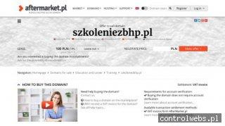 szkoleniezbhp.pl - Szkolenia BHP